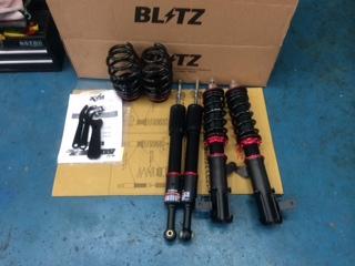 ブリッツ ZZ-R ダンパー取り付け