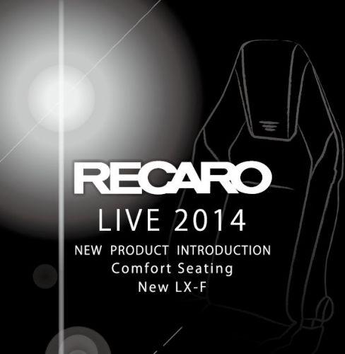 【イベント情報】RECARO LIVE2014 SUMMER