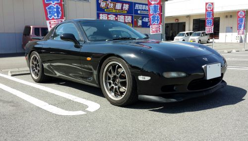 RX-7(FD3S)レカロシート取り付け①