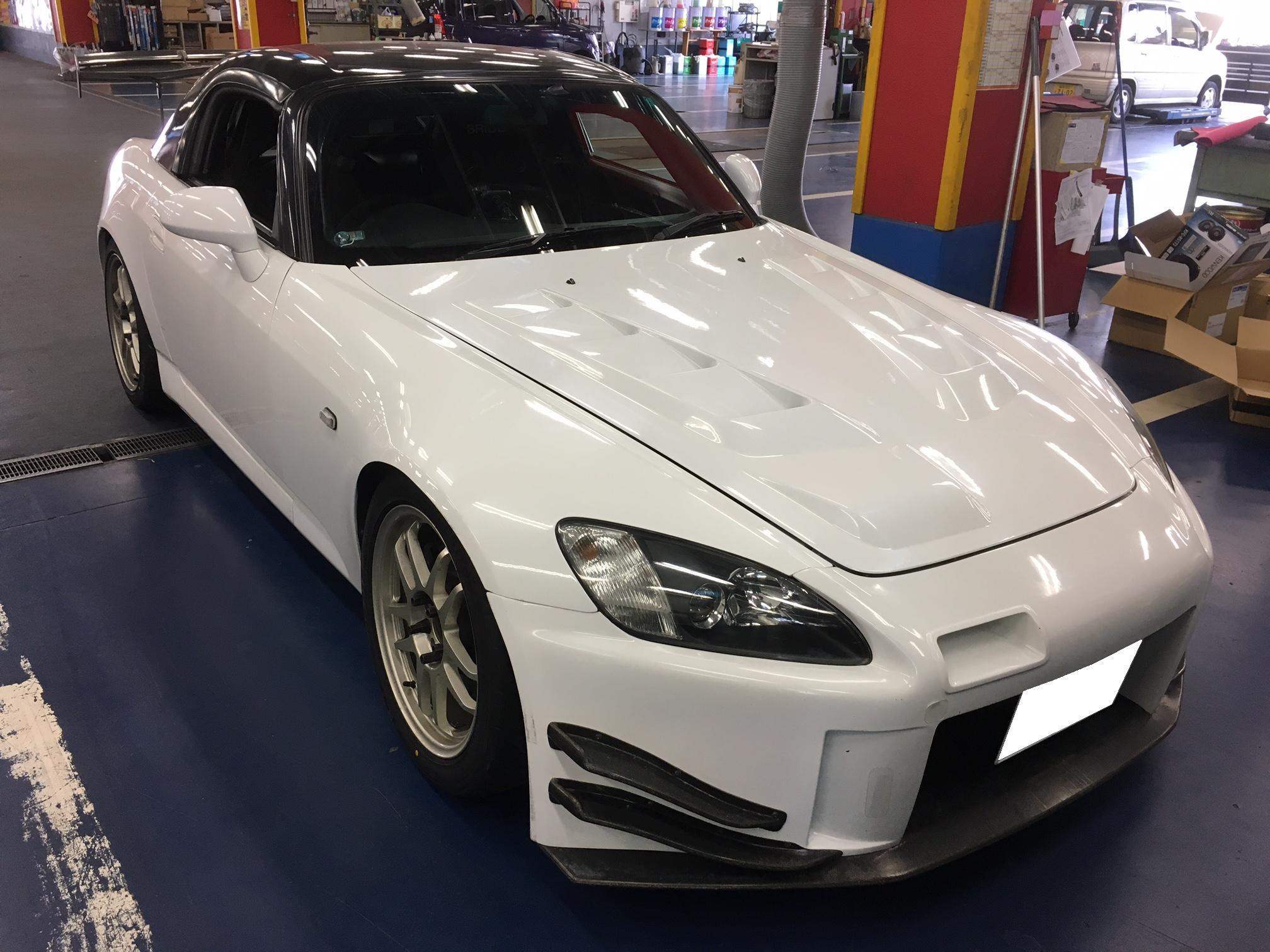 S2000 RECAROシート取り付け!!